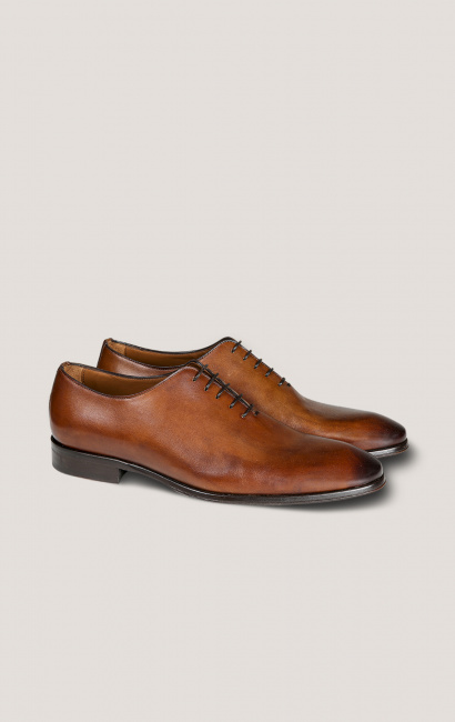 Richelieu cuir one cut cognac