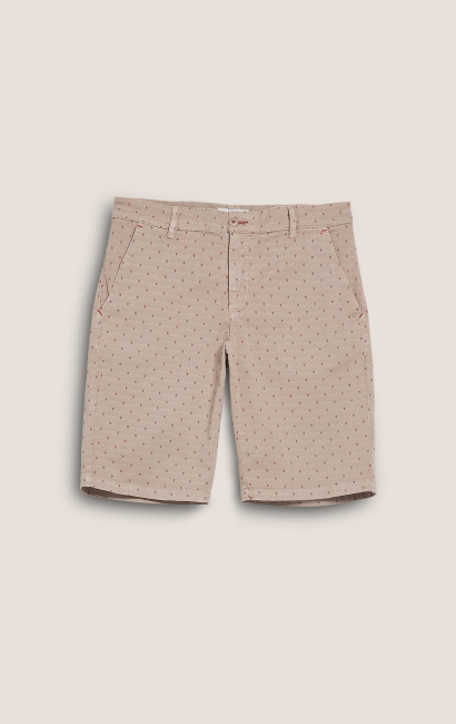 Short poches biais outremer Slim