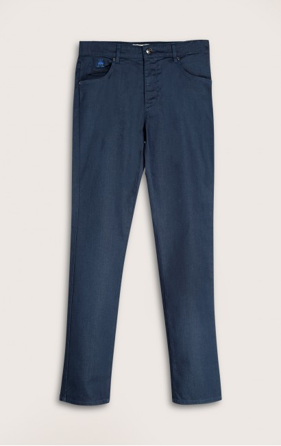 Pantalon 5 poches denim surteint