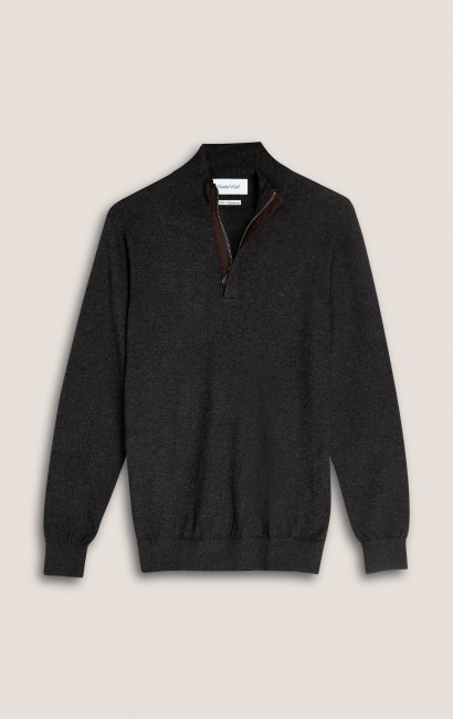 Pull col zip anthracite