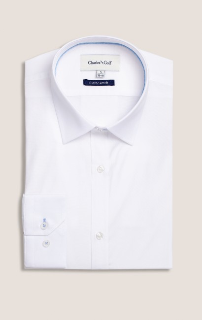 Chemise ville extra-slim blanche